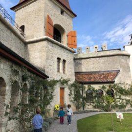 Экскурсии в честь 20-летия Детского городка. Замок Ленцбург.
