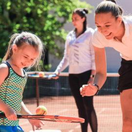 Теннисный летний лагерь 2021